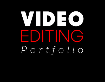Video Editing and Composting Projects