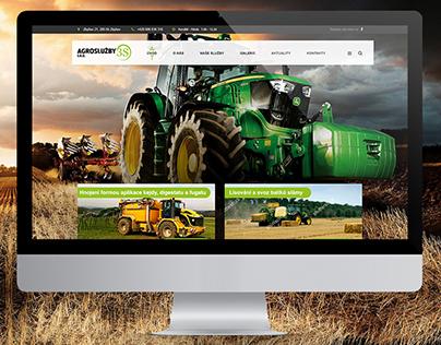Web design - agriculture Agroslužby3S 2017 (c)