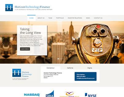 Technology Finance Company Website