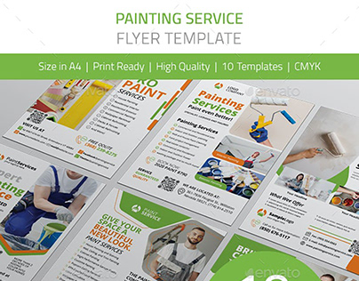 Painting Service Flyer