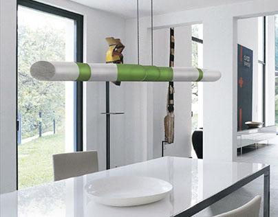 Rewim | Lamp made with wine bottles