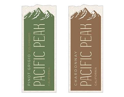 Design Concepts for Pacific Peak Rebrand