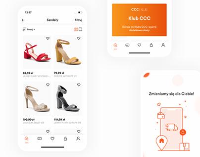 CCC Shoes & Bags Mobile App