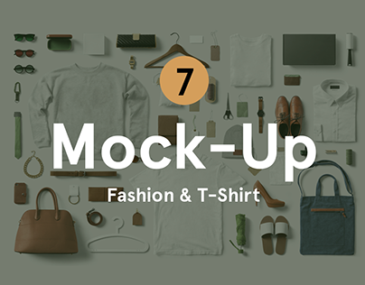 Fashion & T-Shirt PSD Mockup