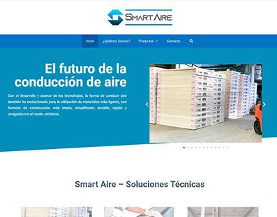Diseño de sitio web SmarTAire