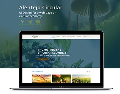 Alentejo Circular UI Design