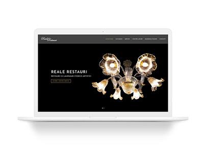 RealeRestauri.com - Website Restyling