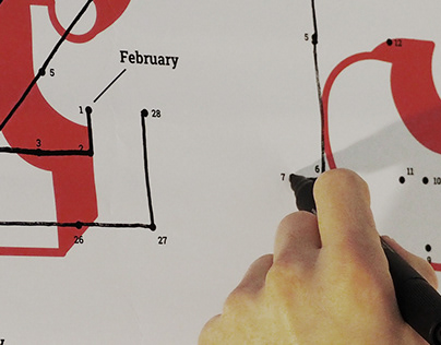 Trackable calendar.