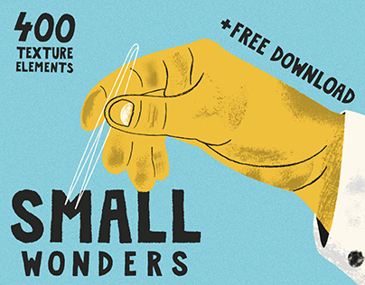 Small Wonders - 400 Texture Elements + FREE DOWNLOAD