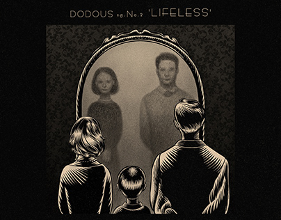 DODOUS single No.2 album jacket illustration
