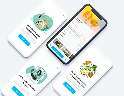 Healthy food app - freebies