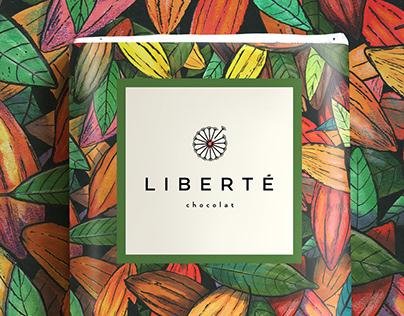 Liberté Chocolat - 85% Cacao - Vegan Chocolate