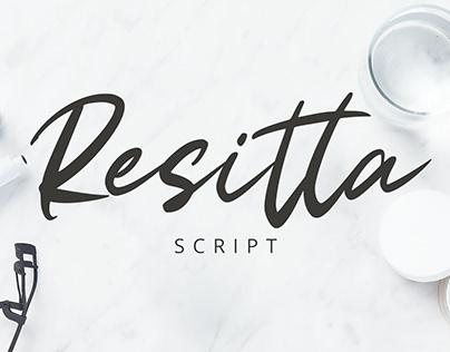 Resitta Script