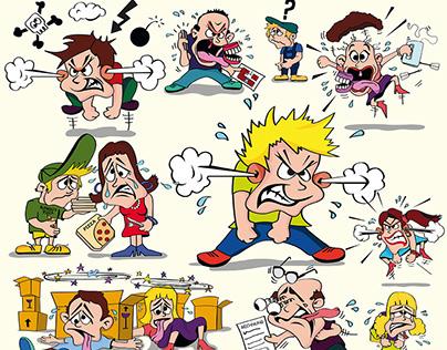 Illustration, Cartoons