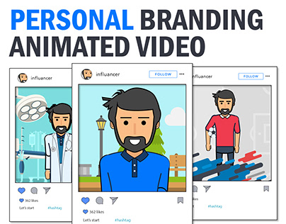 Your Personal Branding Animated video