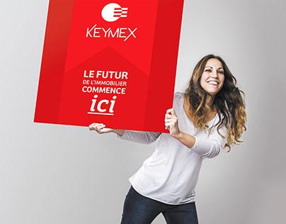 Keymex -Le futur de l'immobilier - Brand design