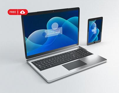Download Free Laptop Mockup