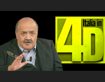 """""""ITALIA IN 4D"""" - TV Program"""