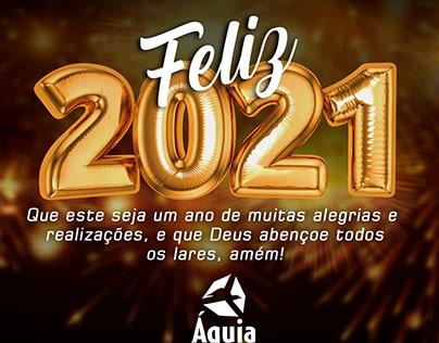 Post: Feliz 2021 - Águia Serviços