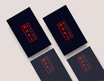 Maki Station - Suhsi Bar Branding