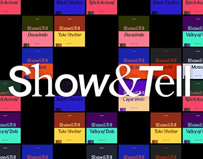 Show&Tell — Branding