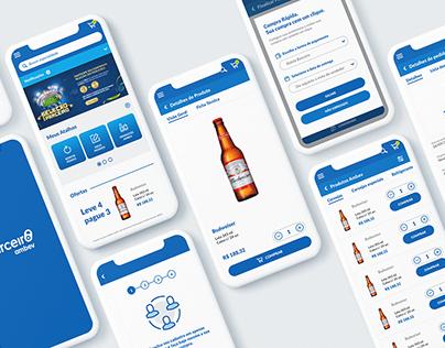 App Parceiro Ambev - UX/UI