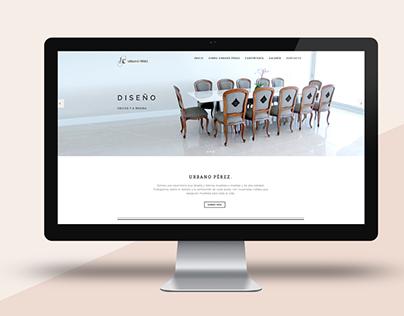 Urbano Pérez - Web Site