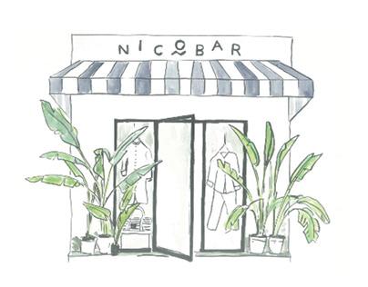 Nicobar - Window display design