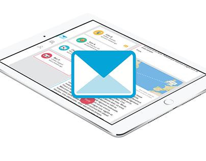 Corresponder iPad App Concept