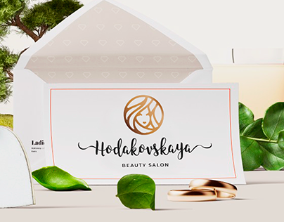 Beauty salon branding