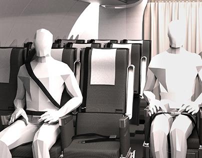 UNIVERSAL AIRPLANE SEAT