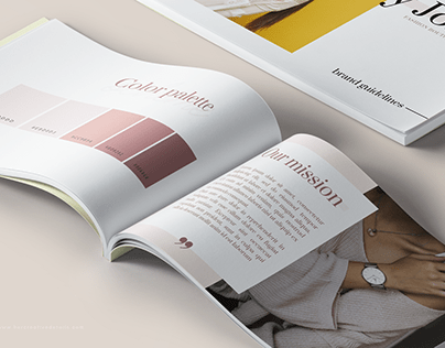 Branding Guidelines Book Templates