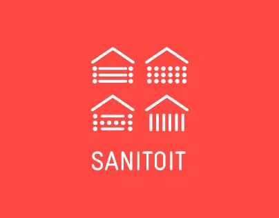 SANITOIT - identité visuelle