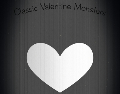 Classic Valentine Monsters