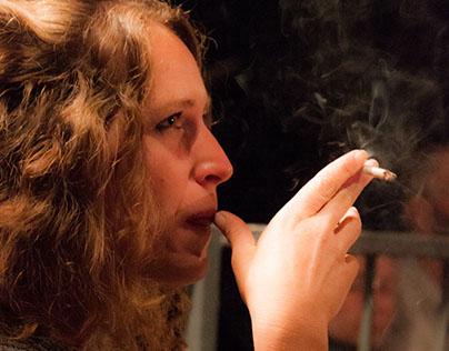 La femme à la cigarette/The woman with a cigarette