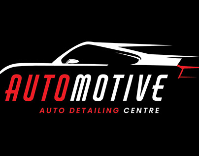Auto Motive - Auto Detailing Centre Logo