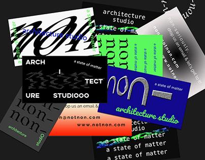 non- architecture studio