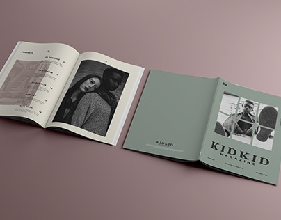 KIDKID Magazine   Editoral Design