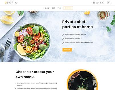 Event Booking Custom Website Design & Development