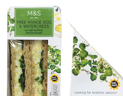 M&S Sandwich Packaging