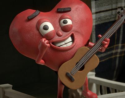 Tender sausages - Heart