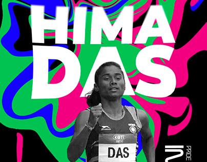 Hima Das Sport Poster