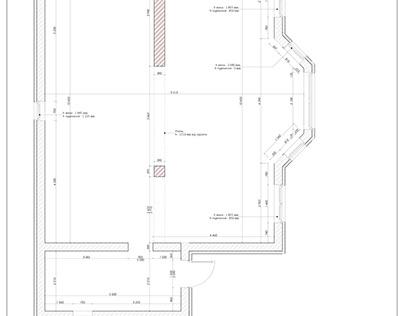 Чертежи к дизайн-проекту дома