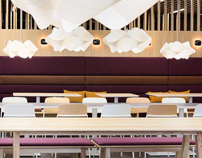 Design of the Elisa Campus Restaurant Center