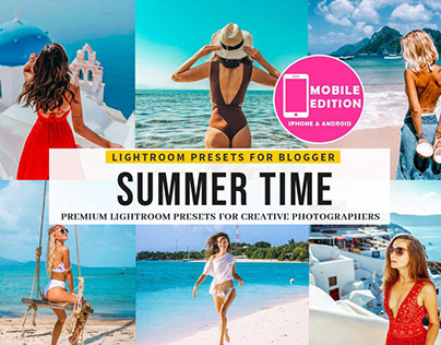 20 PRO Summer Time Lightroom Presets