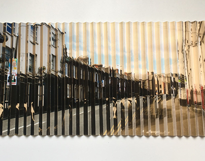 Memory Lane Lenticular, Environmental Graphic Design