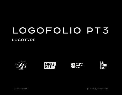 Logofolio Part 3 : Drinks logos and Logotype