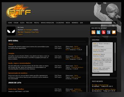 PTfighters - Forum Redesign & Branding