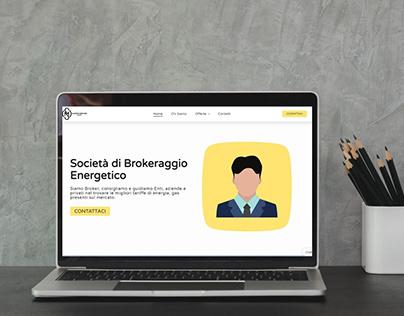 Website Design: Broker