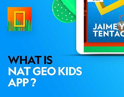 Nat Geo Kids App